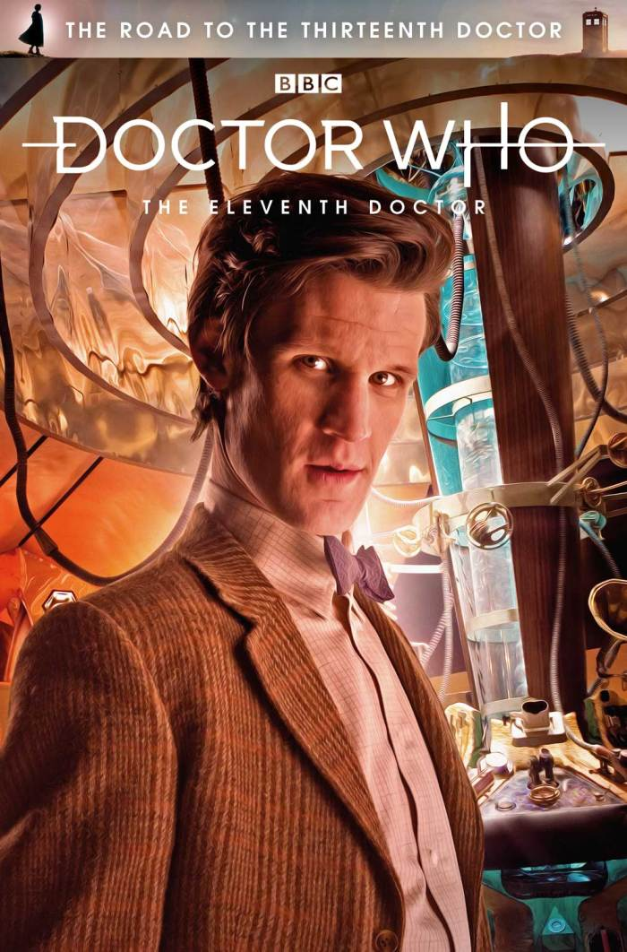 The Road To The Thirteenth Doctor - The Eleventh Doctor - Photo Cover by Will Brooks