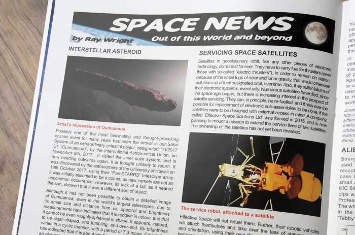 Spaceship Away 44 - Space News