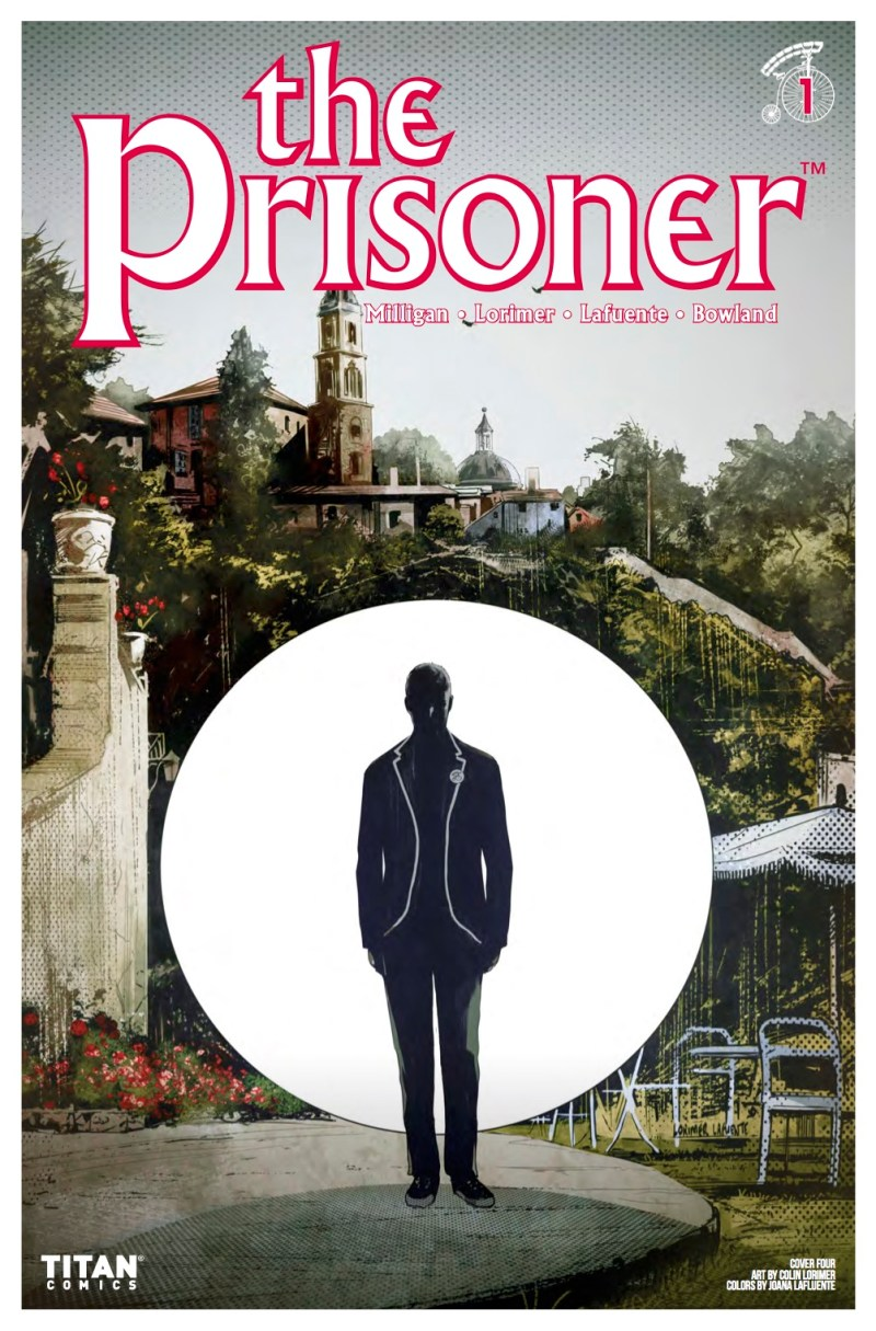 The Prisoner #1 Cover D: Colin Lorimer