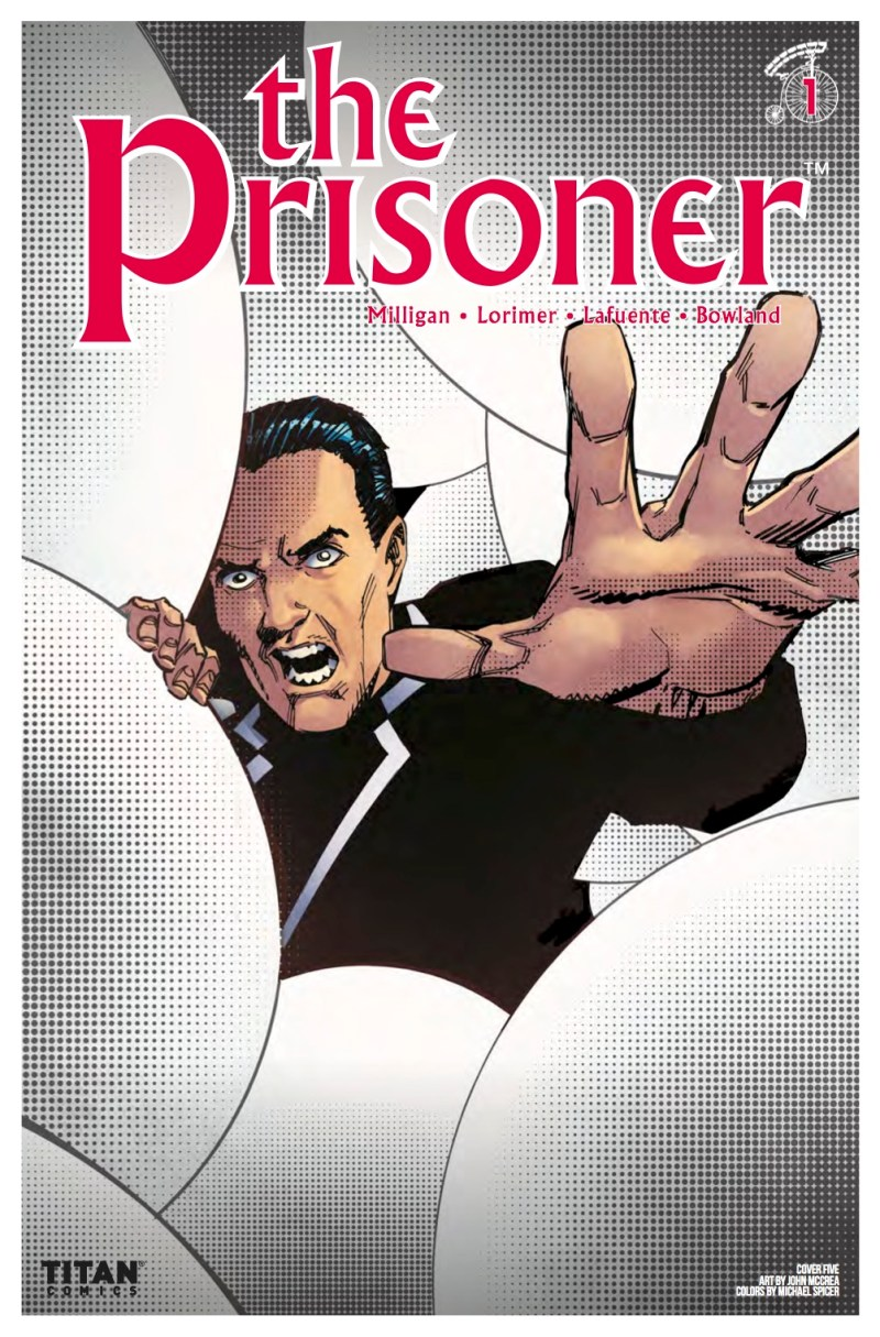 The Prisoner #1 Cover E: John McCrea.