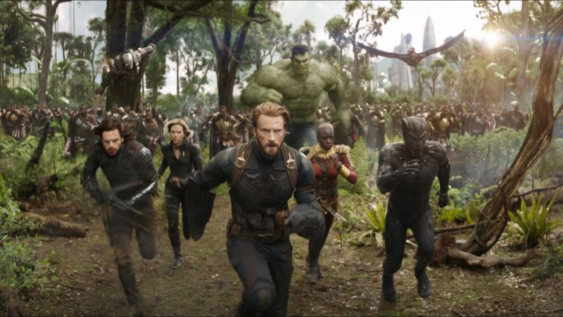 If only comics publishers had the marketing budget of Avengers: Infinity War…