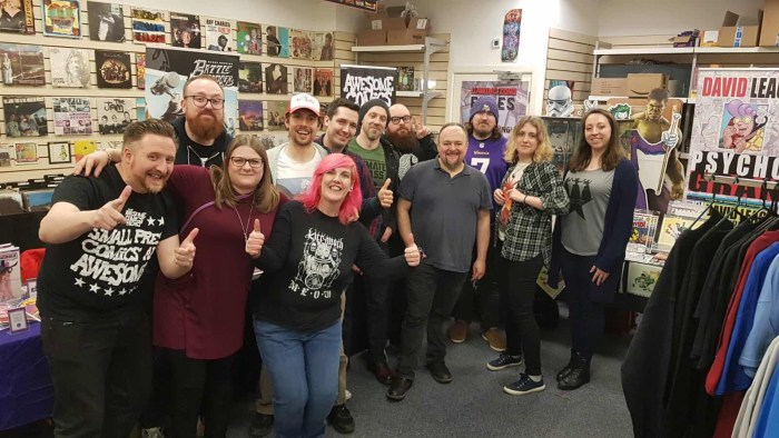 Swindon Small Press Event 2018