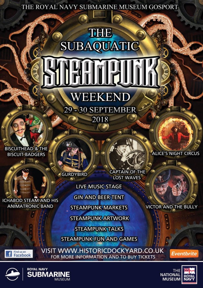 Subaquatic Steampunk Weekend Poster 2018