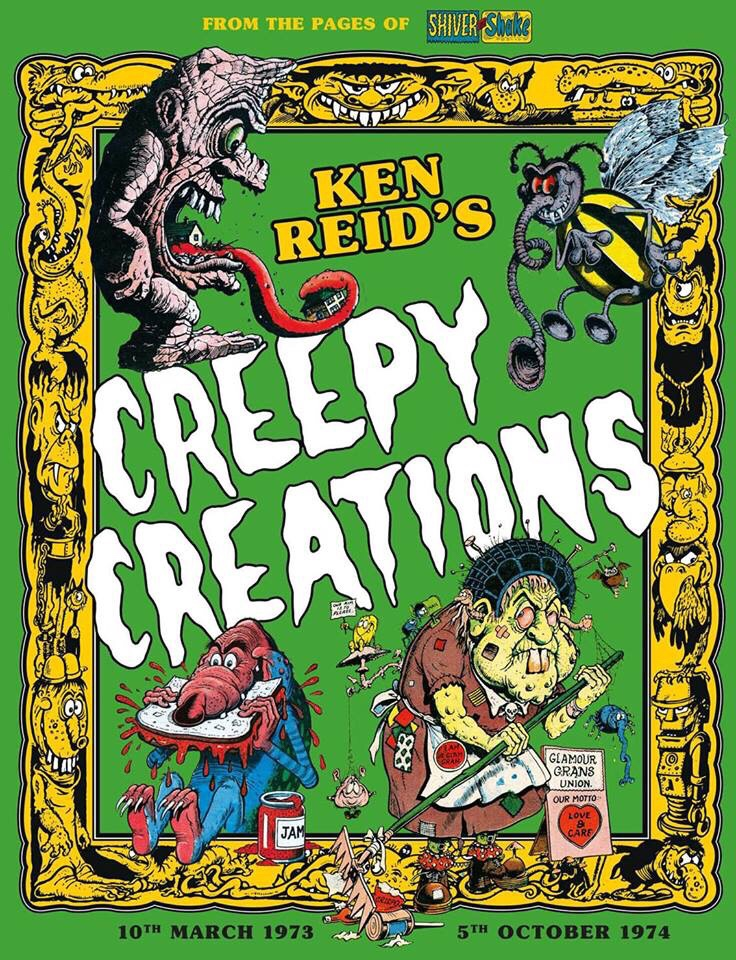 Ken Reid's Creepy Creations
