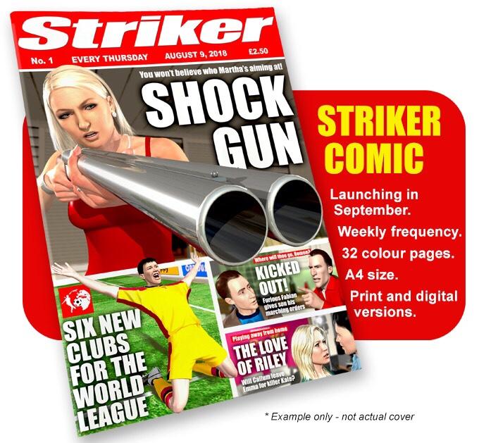 Striker Comic Issue One - Kickstarter Promo