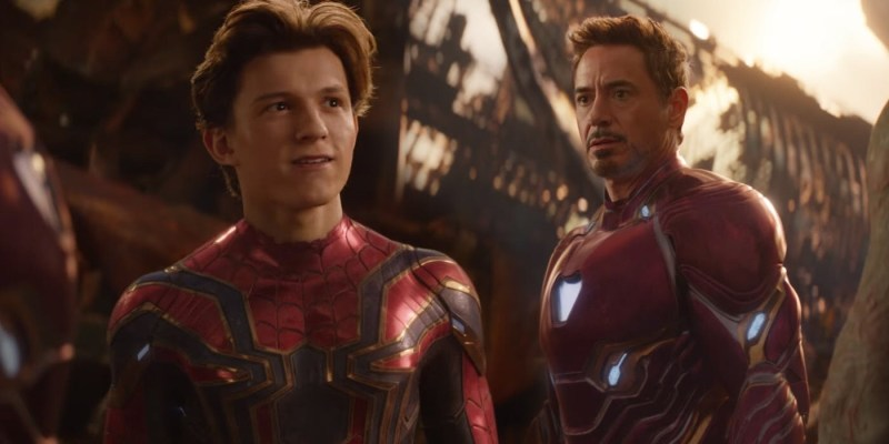 Avengers: Infinity War - Spider-Man and Iron Man