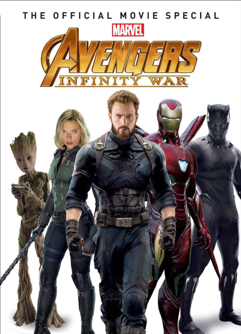 Marvel's Avengers: Infinity War Official Collector's Edition Cover - Hard Cover