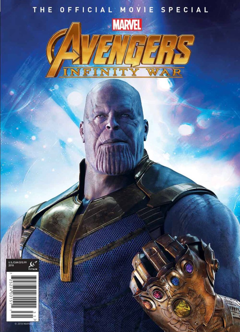 Marvel's Avengers: Infinity War Official Collector's Edition Cover - Diamond Exclusive