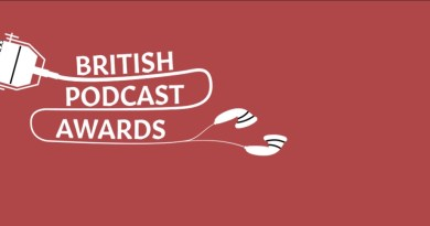 British Podcast Awards Banner