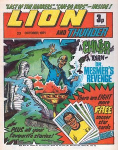 Lion and Thunder cover dated 23rd October 1971