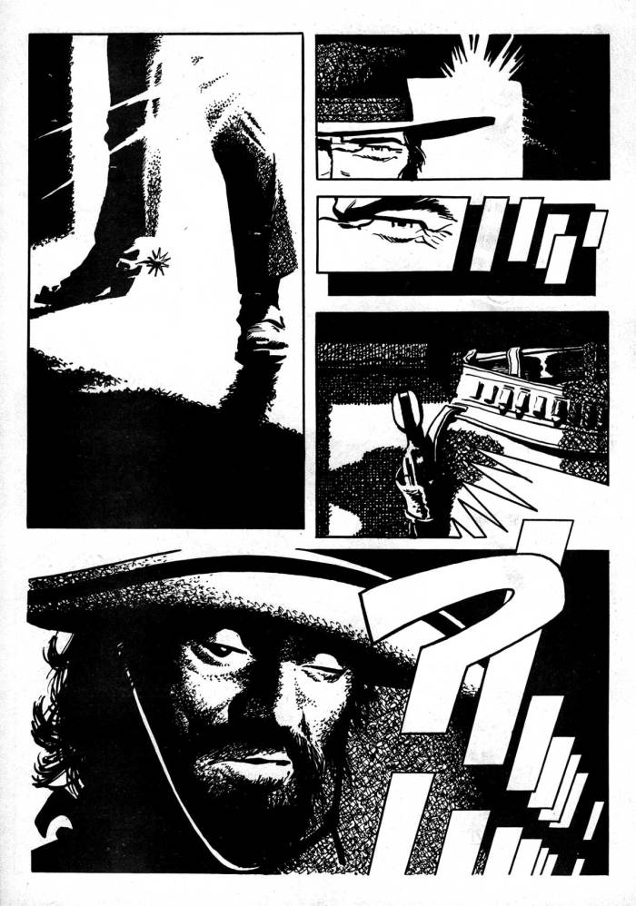 """Ally Sloper Issue One - """"Swade"""" Page Two by Frank Bellamy"""