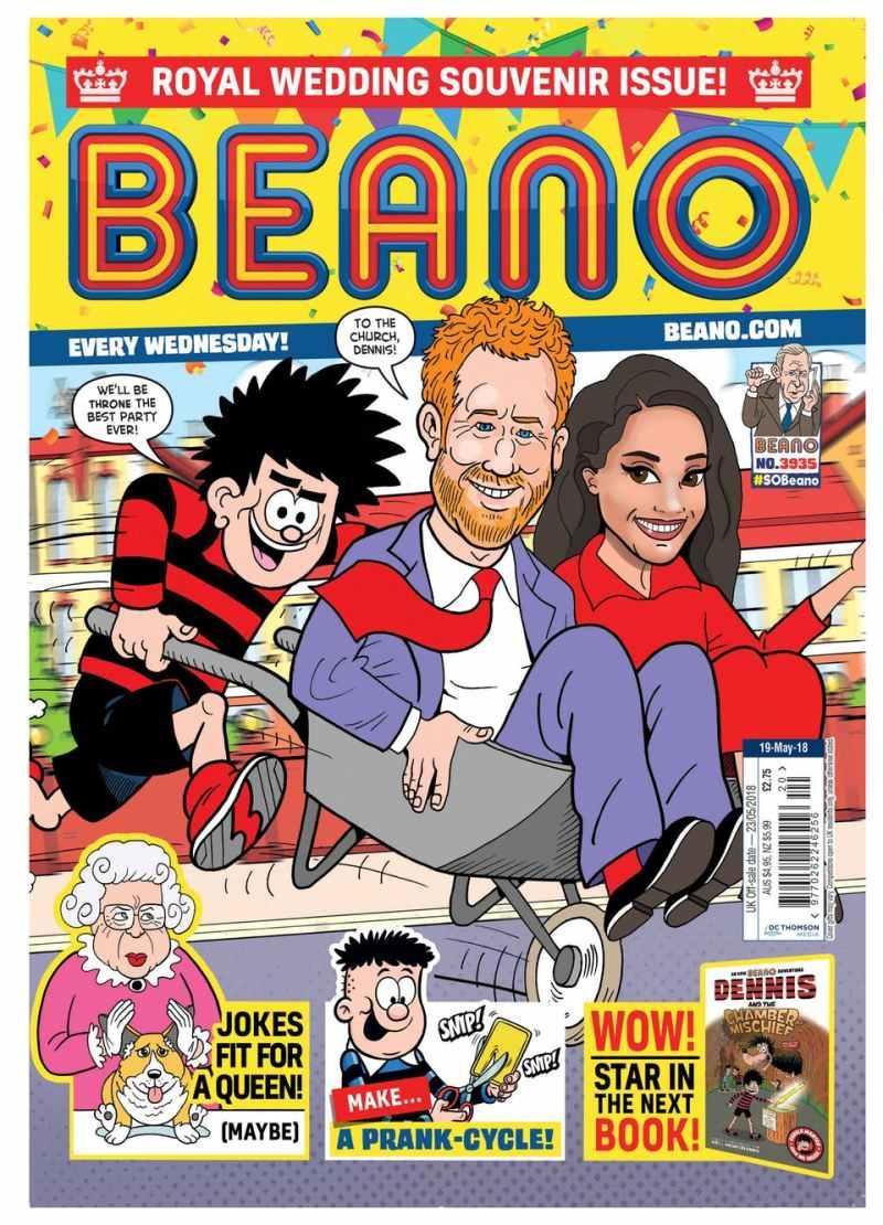 Beano 3935 - Cover