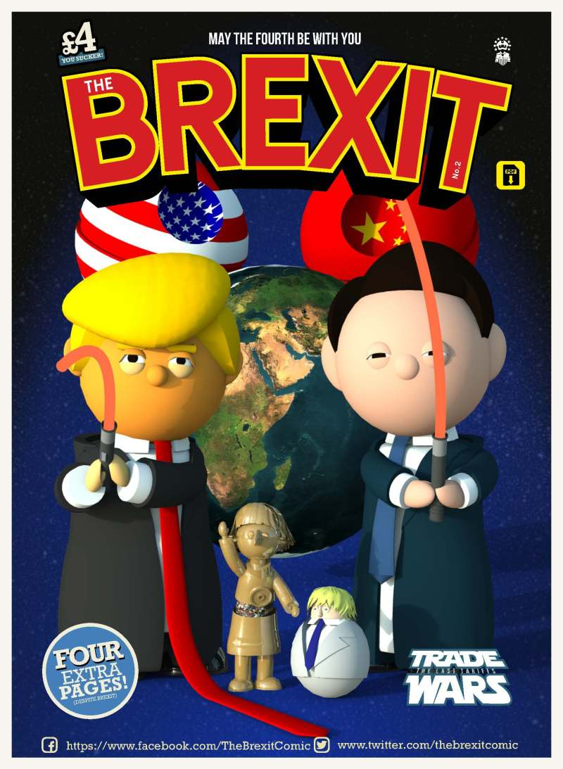 The Brexit Comic #2 - Cover