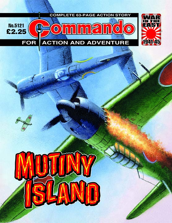 Commando 5121: Action and Adventure - Mutiny Island