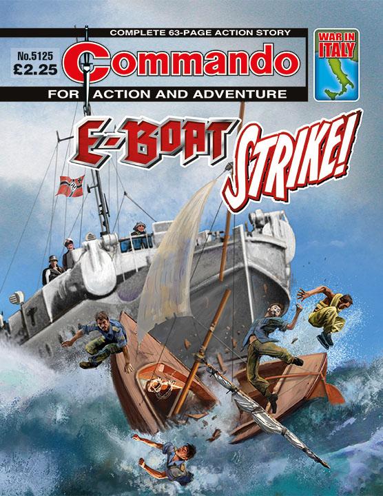 Commando 5125: Action and Adventure: E-Boat Strike!