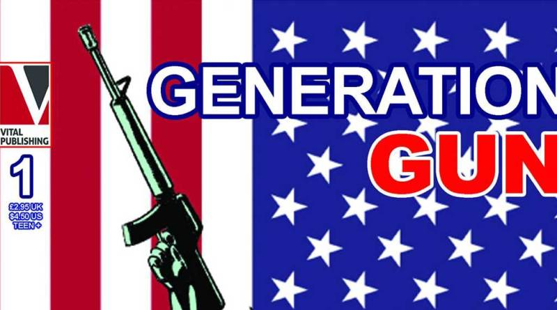 Generation Gun #1 - Cover SNIP