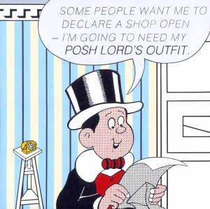 Lord Snooty  by Horace Panter