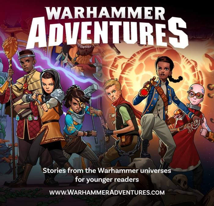 Warhammer Adventure Novels Poster