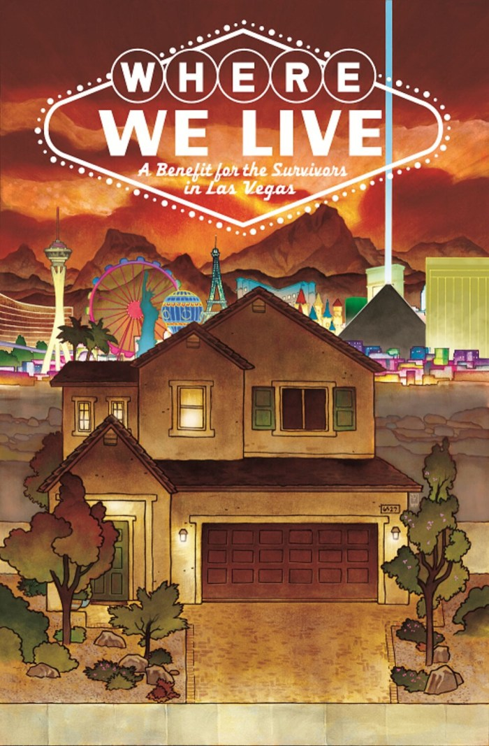 Where We Live: Las Vegas Shooting Benefit Anthology