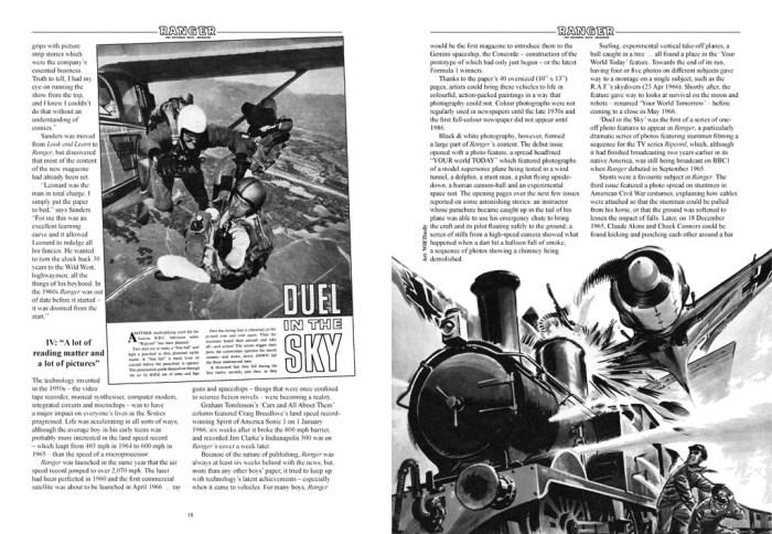 Ranger The National Boys' Magazine - Sample Spread