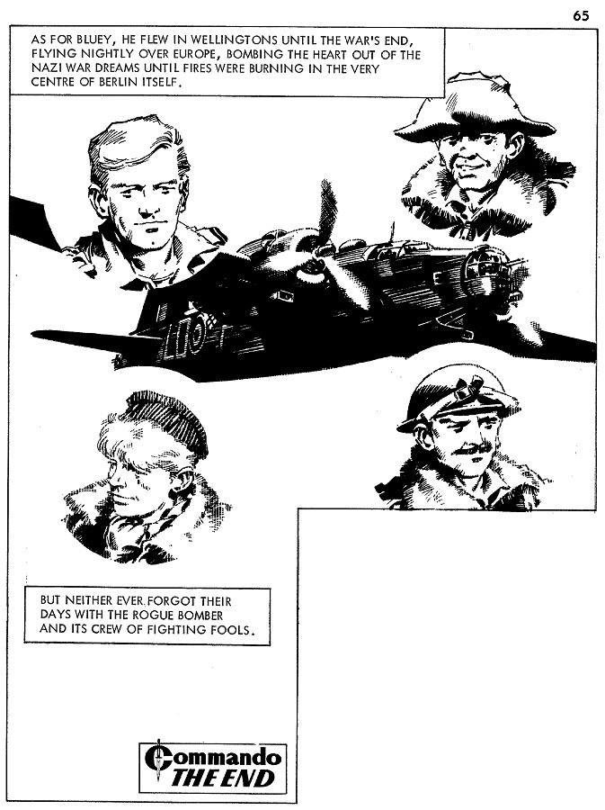 Commando 469 - Death of a Wiimpey. Art by Cam Kennedy