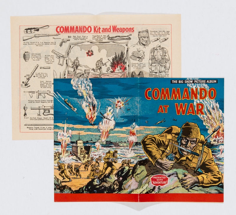 Commando At War Booklet (1954) - from Adventure