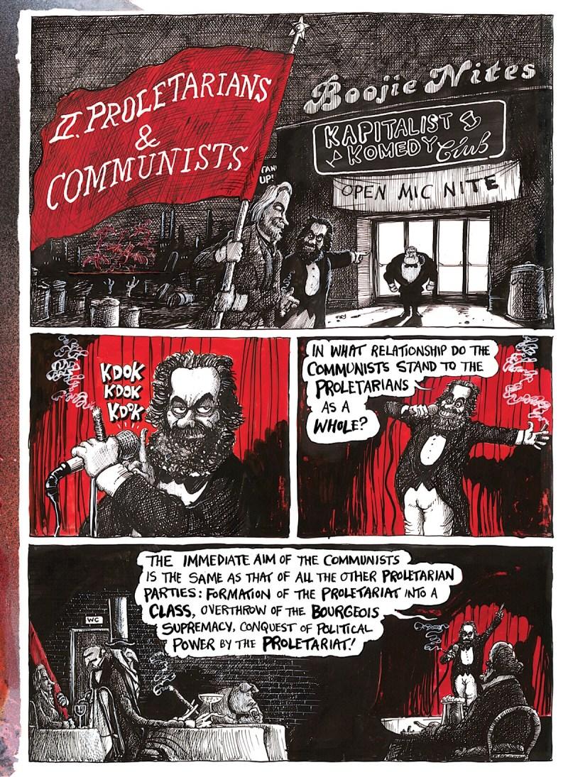 The Communist Manifesto - © Martin Rowson