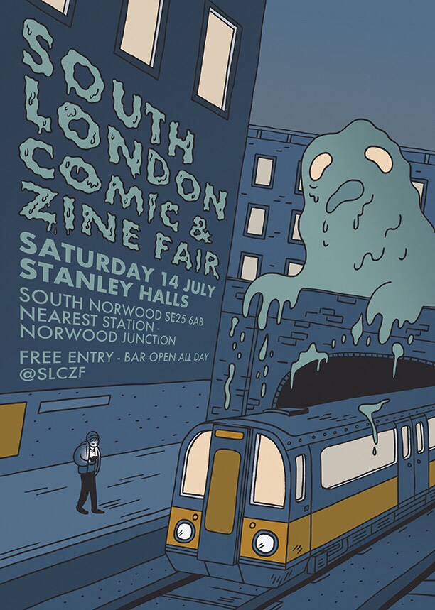 South London Comic and Zine Fair 2018