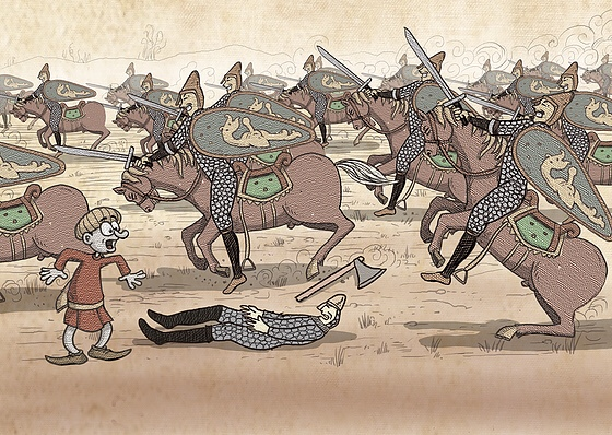 Bayeux Tapestry project Image by Ivan Petrus