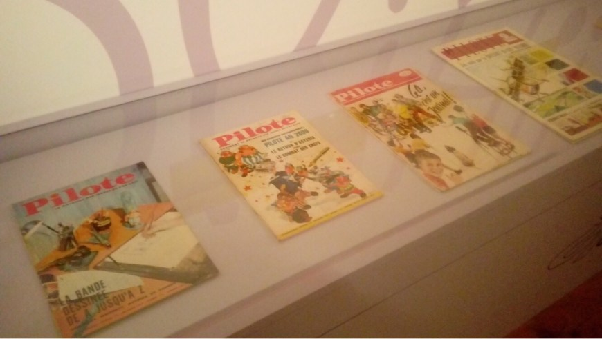 Issues of Pilote. Image: Richard Sheaf