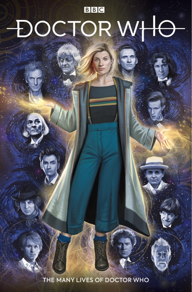 Doctor Who: The Thirteenth Doctor #0 – The Many Lives of Doctor Who Cover A by Claudia Ianniciello