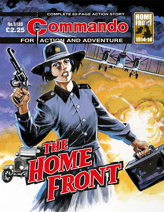 Commando 5133: Action and Adventure - The Home Front