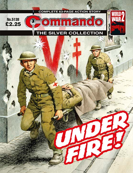 Commando 5138: Silver Collection - Under Fire!