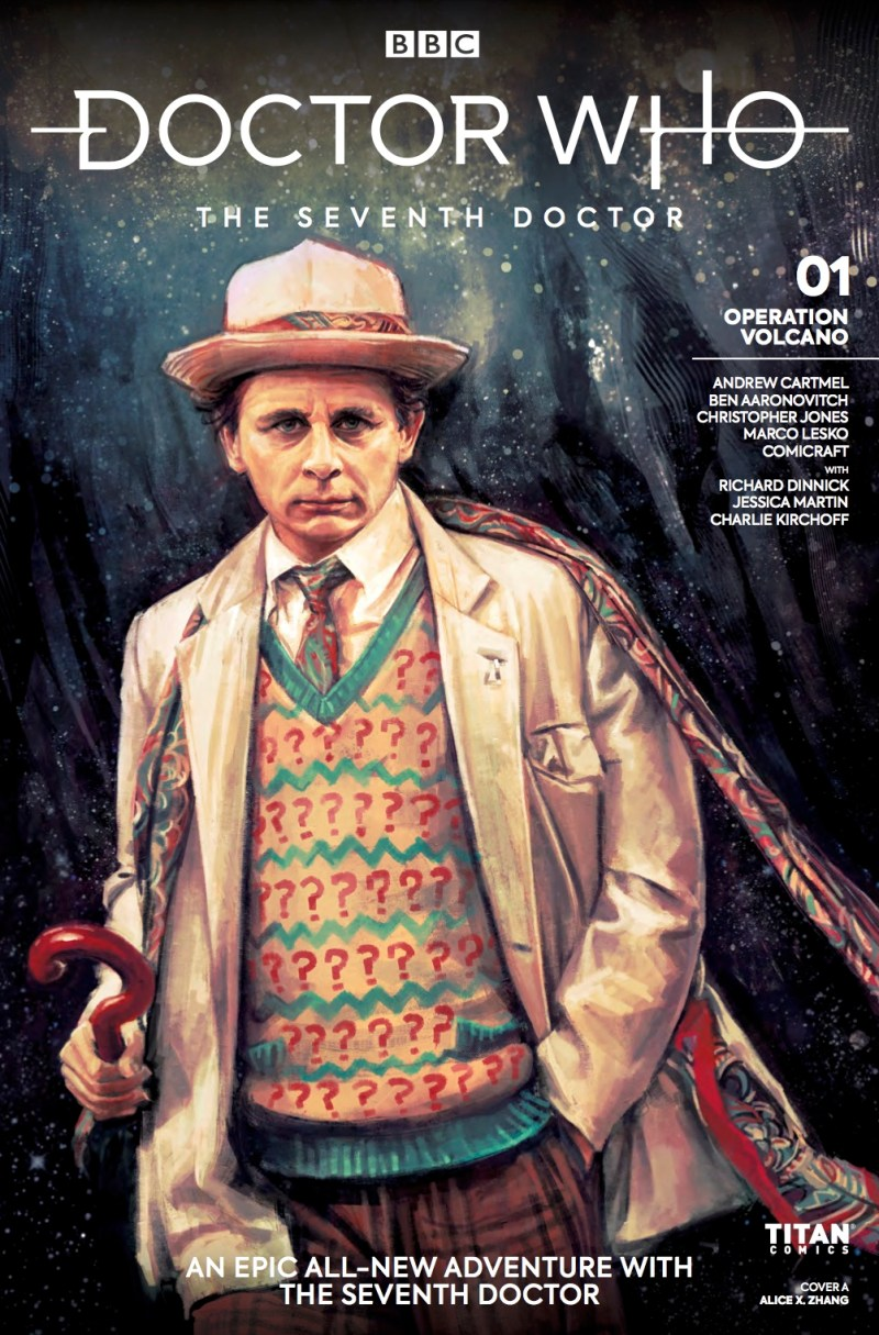 Doctor Who - The Seventh Doctor - Operation Volcano #1 Cover A by Alice X. Zhang