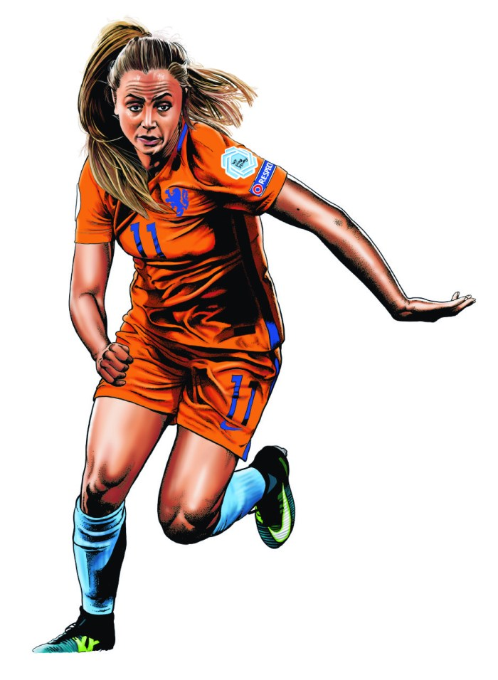 Playing for a Draw Lieke Martens by Steve McGarry