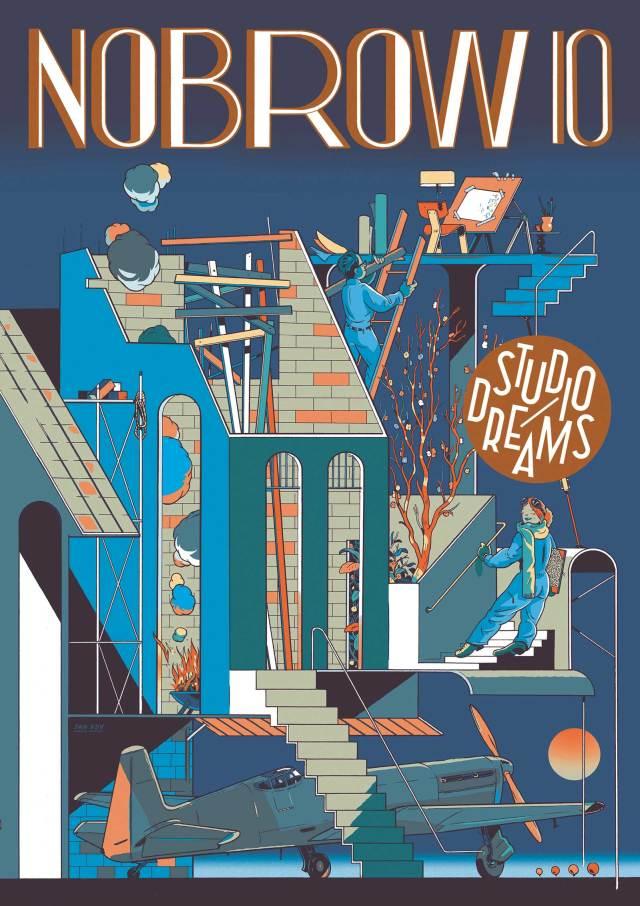 NoBrow 10 - Studio Dreams - Cover
