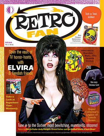 Retro Fan #2 - Elvira