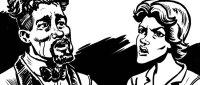 """Zarjaz 31 - Bix Barton - """"Rum Mothers Do 'Ave 'Em"""" by writer Mark Howard and artist Simon Bennett Hayes"""