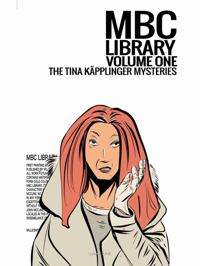 MBC Library Volume One - The Tina Kapplinger Mysteries - Cover