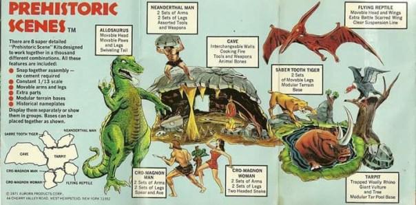 Aurora Dinosaur Kits