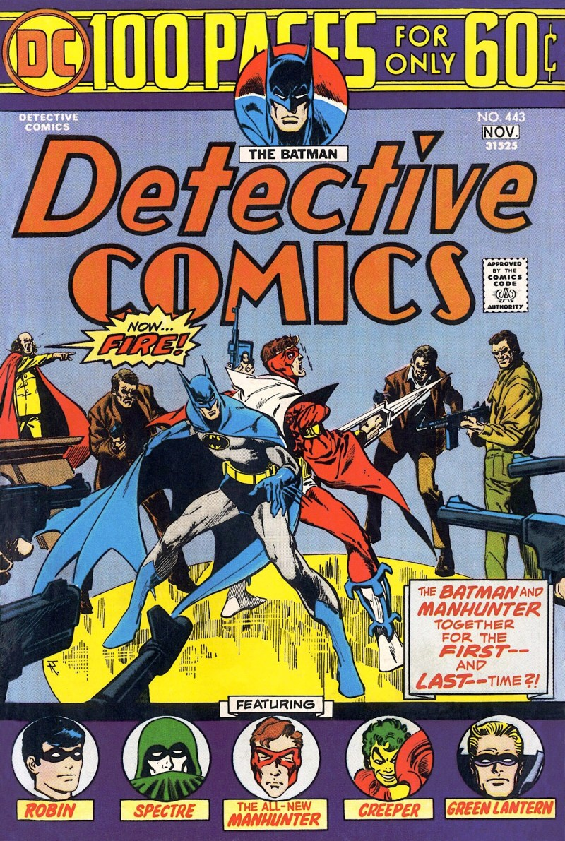 Detective Comics #443 - cover by Jim Aparo