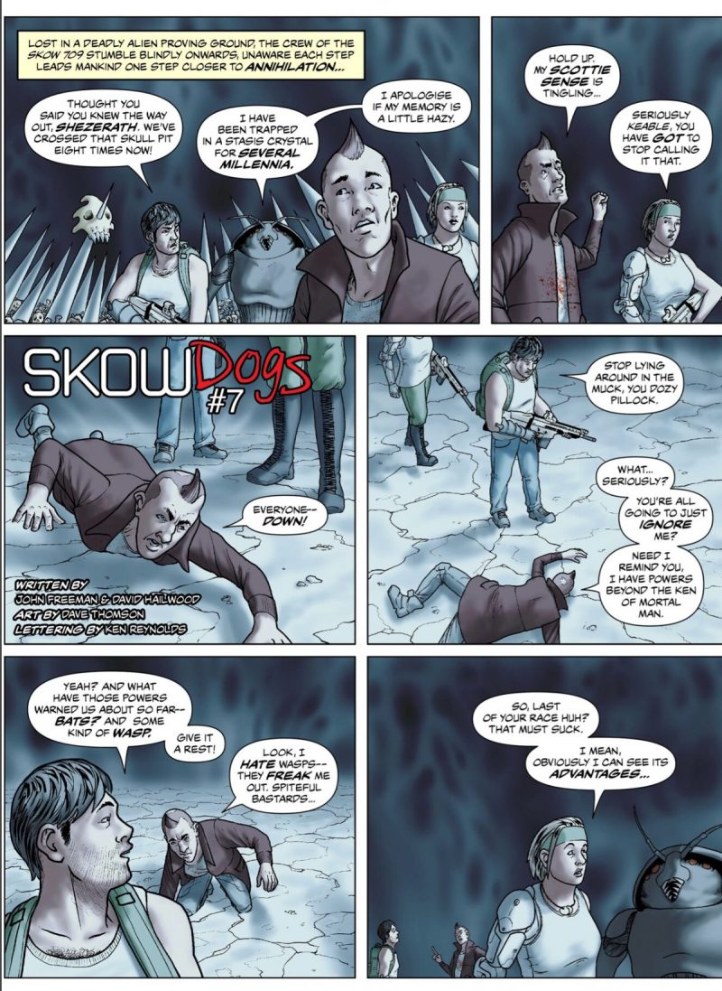 100% Biodegradable Issue 21 - Skow Dogs