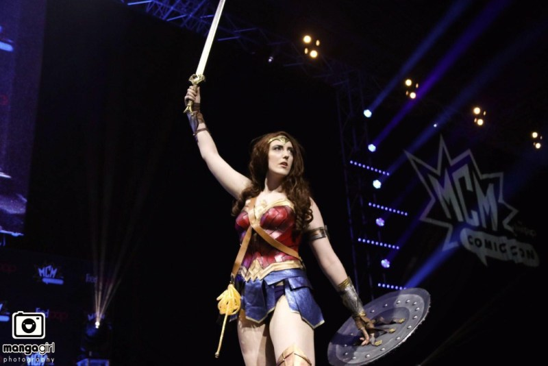 Amazonian Cosplay as Wonder Woman. Photo: Manga Girl Photography