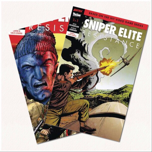 Sniper Elite Resistance #3 Covers