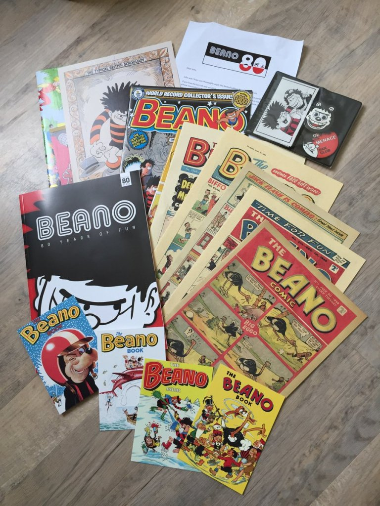 This Beano 80 Years of Fun Limited Edition Box Set is available from WH Smith and online from the DC Thomson web shop. DC Thomson kindly sent us a copy