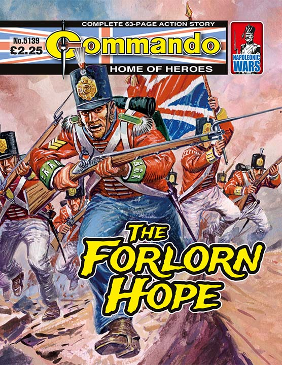Commando 5139: Home of Heroes: The Forlorn Hope