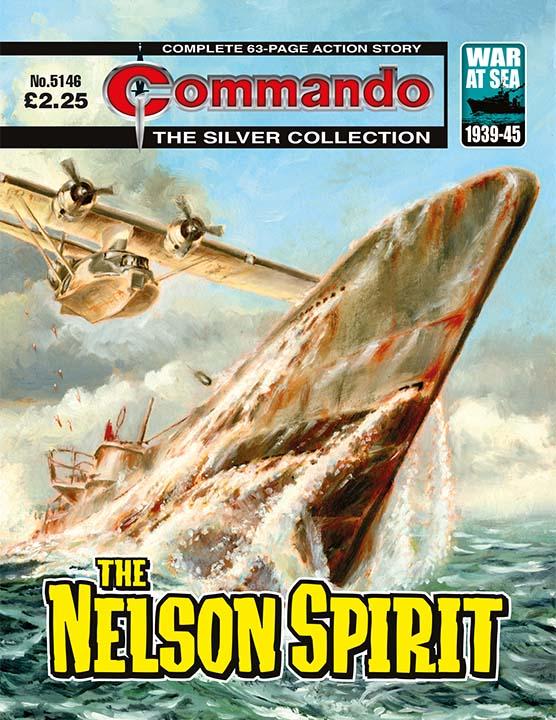 Commando 5146 - Silver Collection: The Nelson Spirit