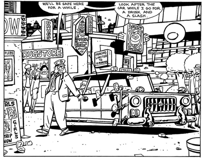 Are you prepared to take a taxi ride in Paul Duncan's City of Angles? One poor sucker from out-of-town did and... BOY! did he have the sight-seeing tour of his life!