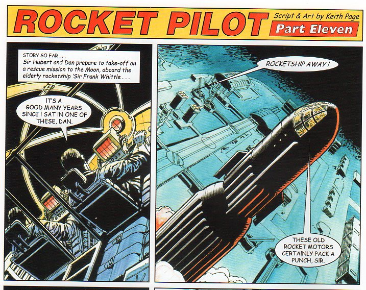 Rocket Pilot by Keith Page, published in Spaceship Away