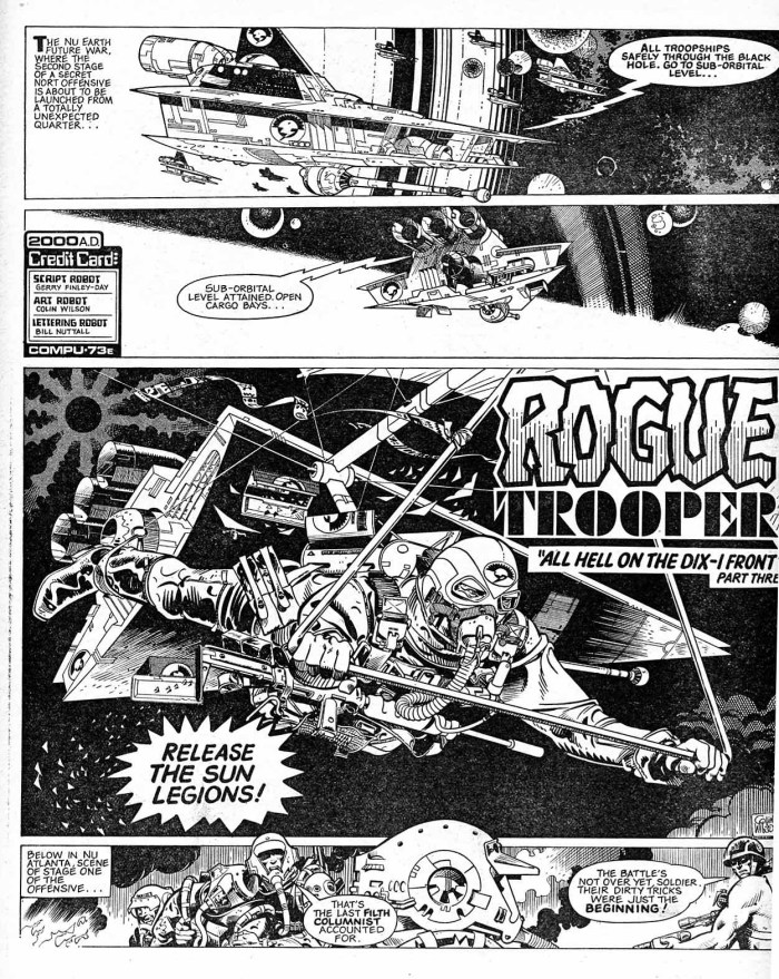 Rogue Trooper by Colin Wilson